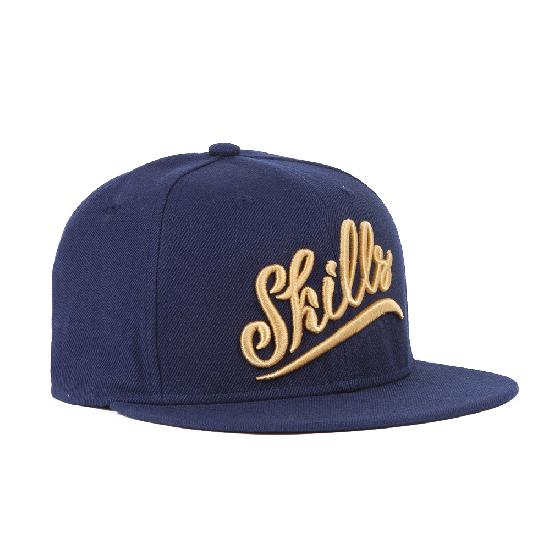 Бейсболка SKILLS 02 (Синий (Navy), O/S)