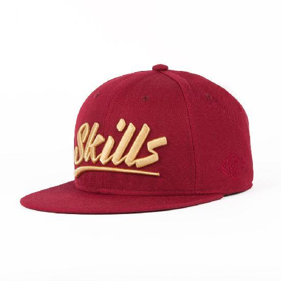Бейсболка SKILLS 03 (Красный (Wine), O/S)
