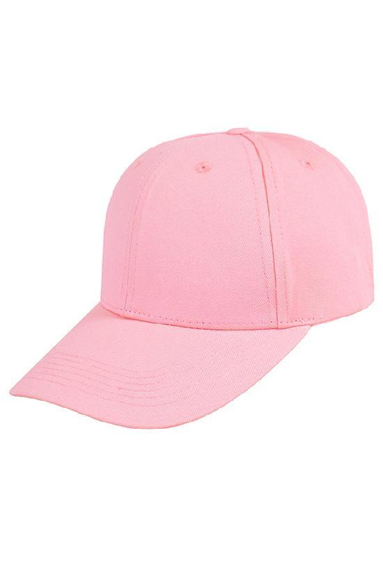 Бейсболка классическая / Your Number / 15127 / розовый