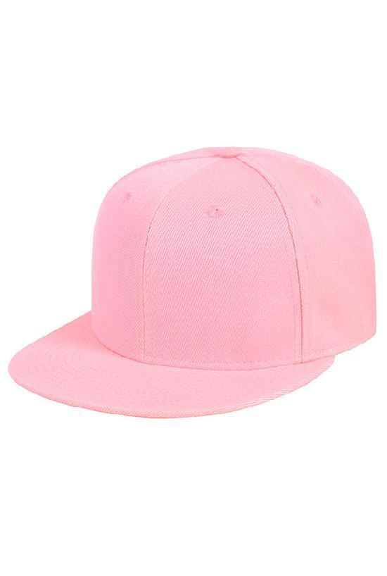 Бейсболка / Your Number / 1201 Blank / светло-розовый