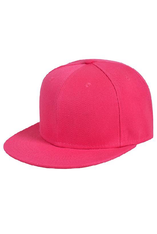 Бейсболка / Your Number / 1201 Blank / ярко-розовый
