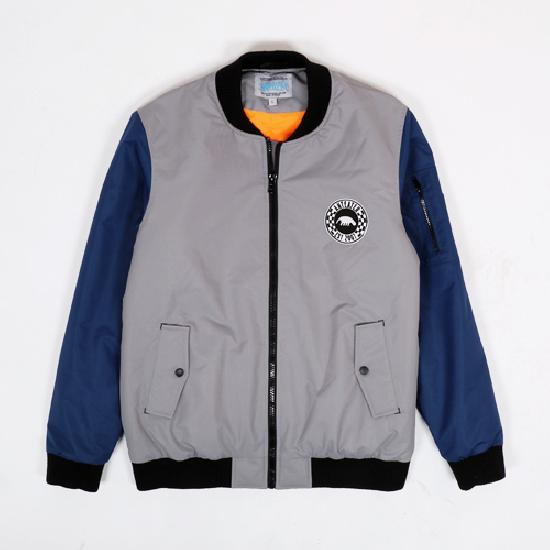 Куртка Anteater Bomber_lux-combo-grey