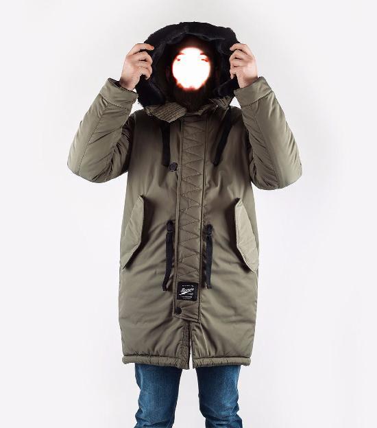 Куртка мужская Bio_Connection 605-1 хаки