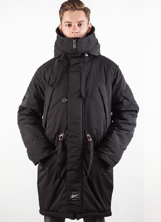 Куртка мужская Bio_Connection 602-1 Черная
