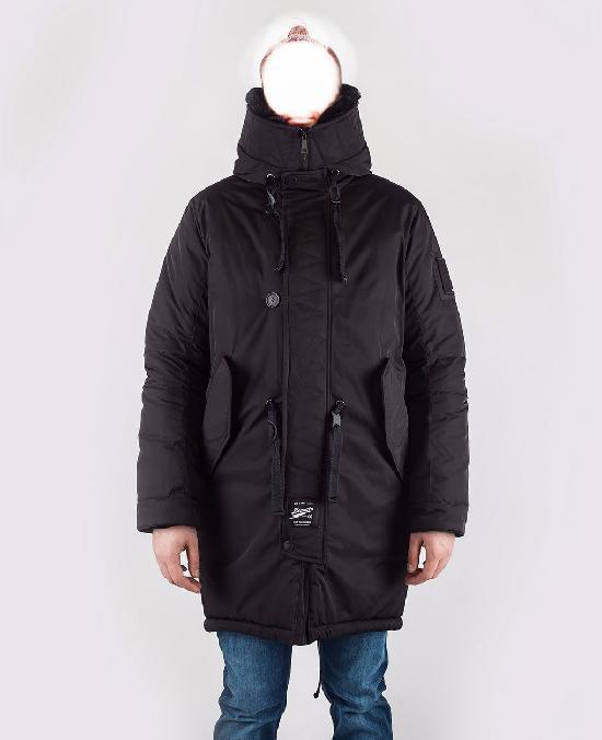 Куртка мужская Bio_Connection 605-1 черный