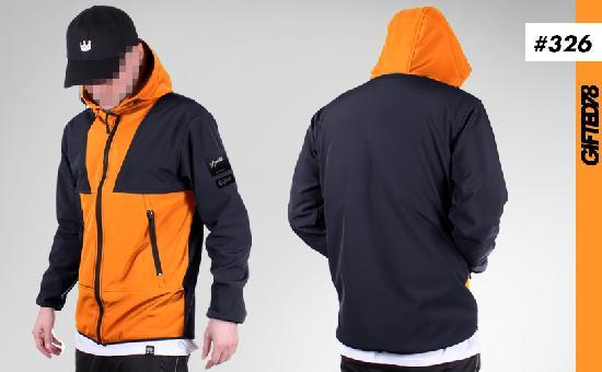 Куртка GIFTED SS19/326 черно-оранжевый