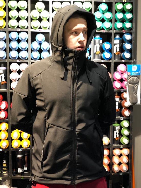 куртка SoftShell IGAN M№0410 черный
