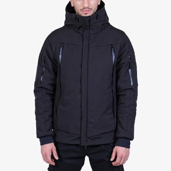 Куртка IGAN 0512 SoftShell зимняя черная