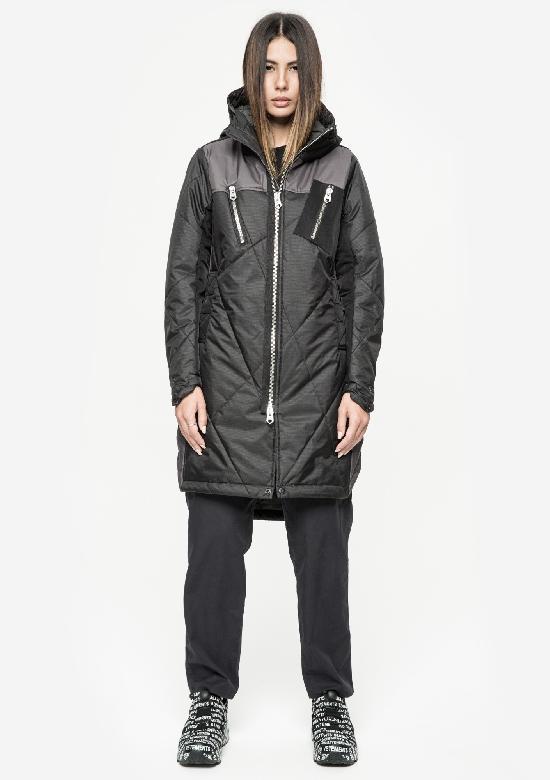 Длинная стёганая куртка KRAKATAU Qw182/1 WEFO