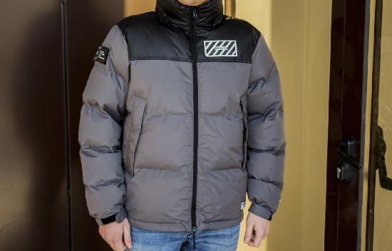 НПОГП  пуховик ХПА -30 серый черный таслан мембрана 5кк