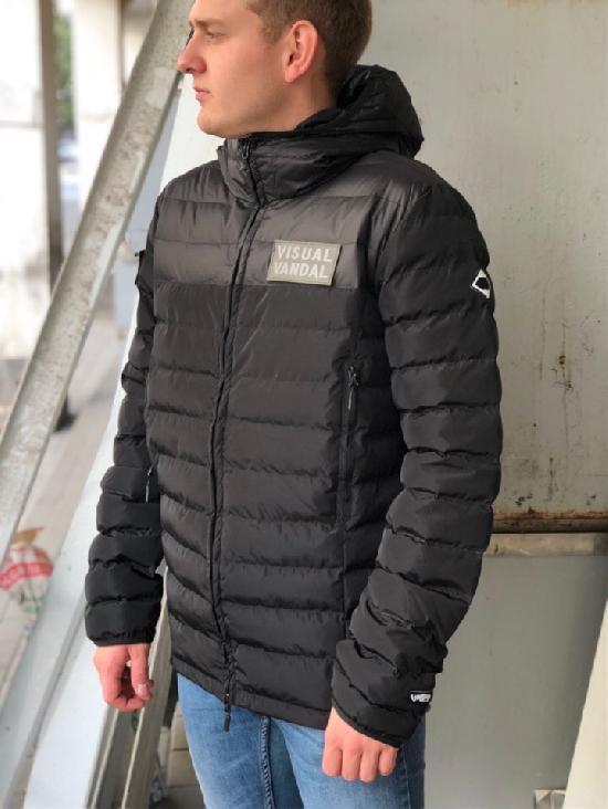НПОГП  пуховка Вандал -15 черный черный таслан мембрана 5кк