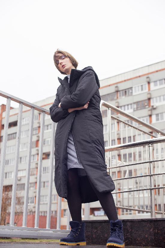 Куртка утепленная ONE TWO Z( Черный)