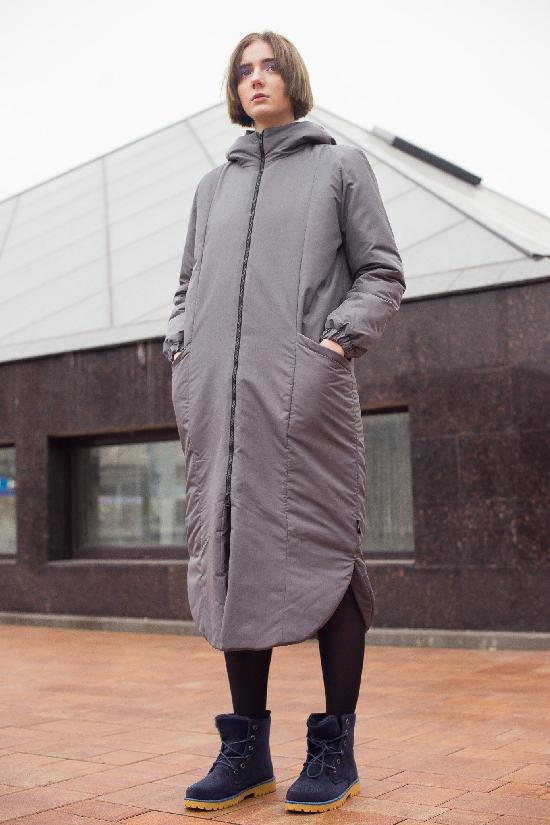 Куртка утепленная ONE TWO Z( Графит)
