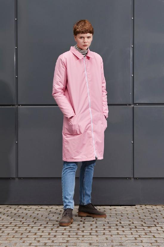 Куртка ONE TWO ((Розовая) Утепленная)