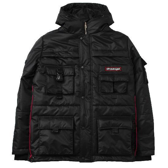 Куртка зимняя Провинция Классика Черный