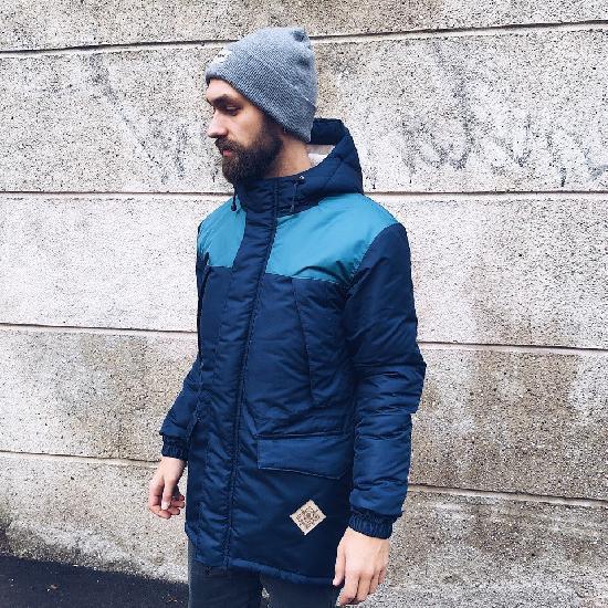 Куртка SKFN Outdoor Winter (бирюза/синий)