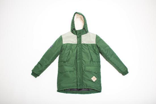 Куртка SKFN Outdoor Winter (бежевый/зеленый)
