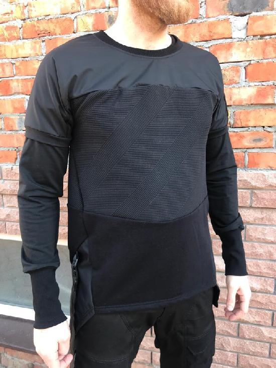лонгслив IGAN M№0206-1 черный