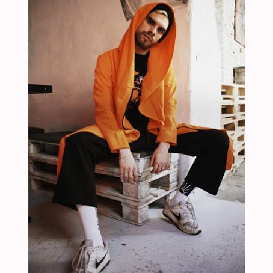 Мантия Fire оранжевая
