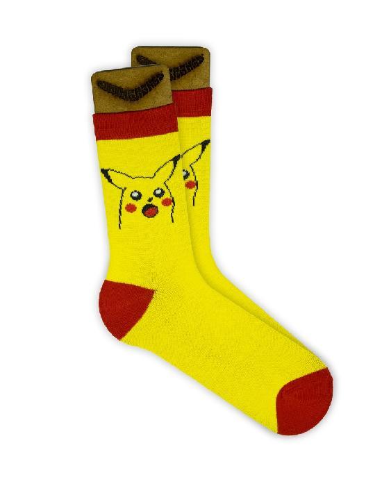 Носки SOCKS positive (ПикаРот №G001) Жёлтый  O/S