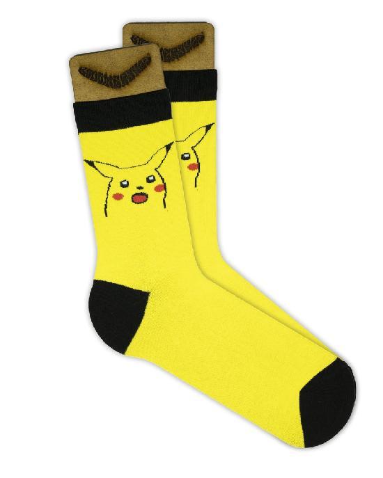 Носки SOCKS positive (ПикаРот №015) Желтый O/S