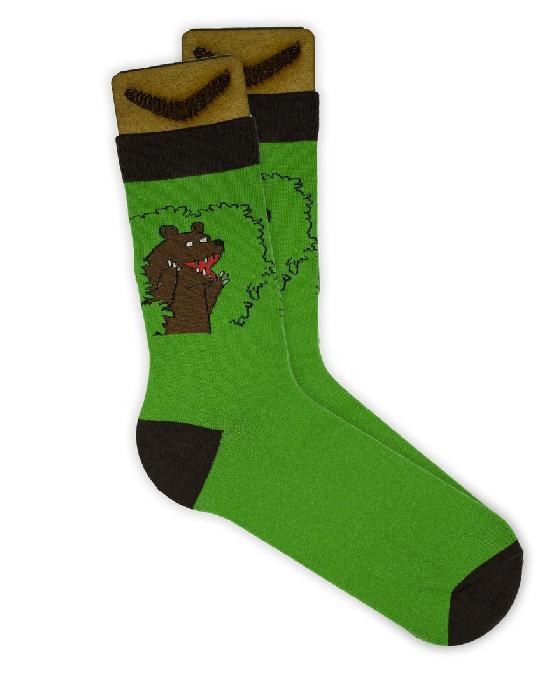 Носки SOCKS positive (Медведь №016 ) Зеленый O/S