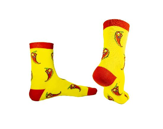 Носки SOCKS positive (Перчик № G011) Жёлтый O/S