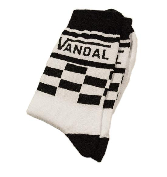Носки SOCKS positive (Vandal №019) Белый O/S