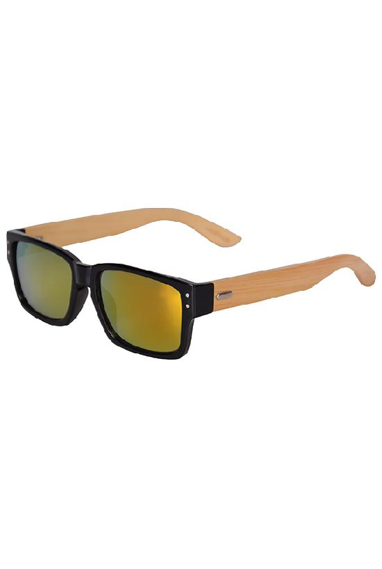 Очки / Woody / WPB1034M-5 Man / чёрный с жёлто-оранж. линзами
