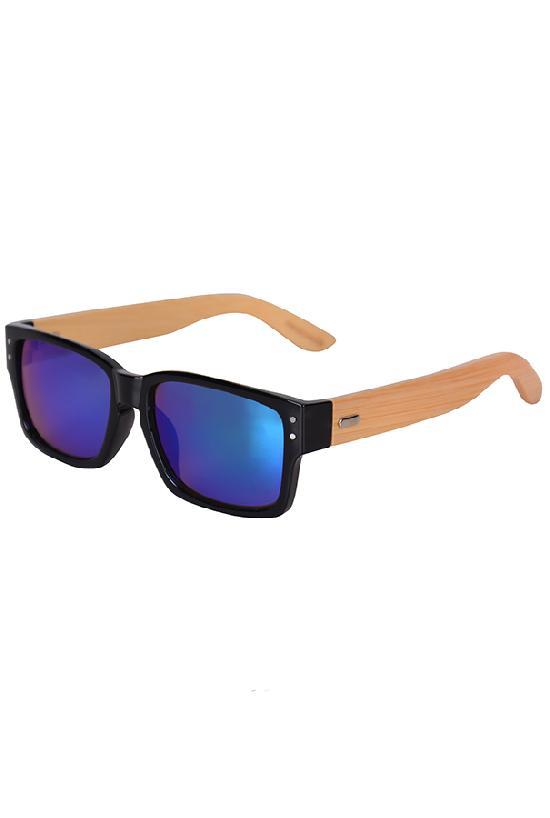 Очки / Woody / WPB1034M-4 Man / чёрный с синими линзами