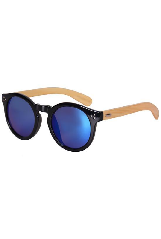 Очки / Woody / 4023 MC-4 Fashion / чёрный с синими линзами