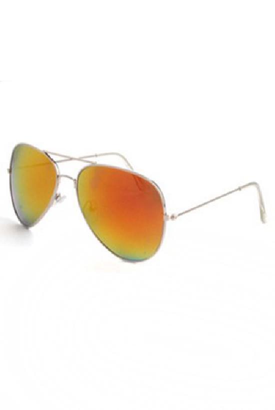 Очки / Police / JHM0911 C-8 Security / серебряный с жёлтыми линзами