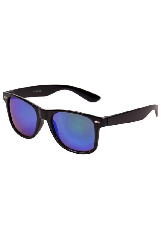 Очки / Street Style / JHM 1028 С-7/ чёрный с фиолетовыми линзами