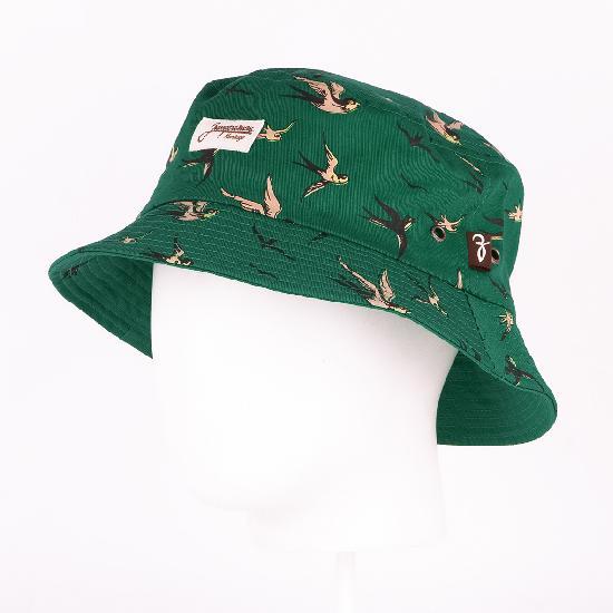 Панама ЗАПОРОЖЕЦ Lastochki (Зеленый (Green)