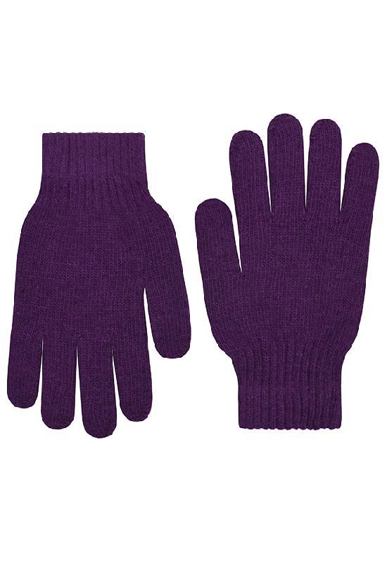 Перчатки / Winter / Blank женские / фиолетовый /  (One size)