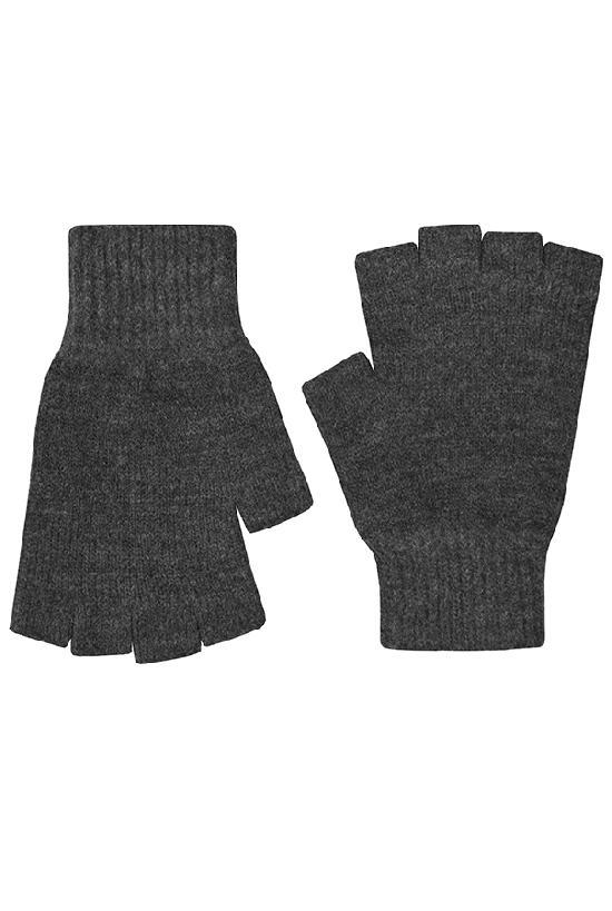 Перчатки / Winter / Blank Без пальцев / тёмно-серый /  (One size)