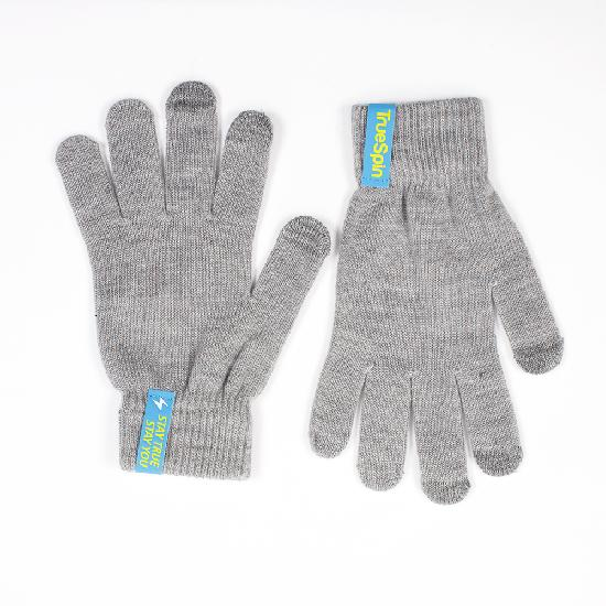 Перчатки TRUESPIN Touch Gloves (Light Heather Grey, O/S)