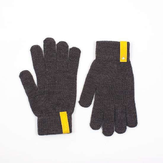 Перчатки TRUESPIN Touch Gloves (Dark Grey, O/S)