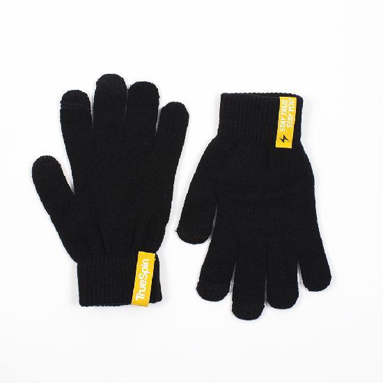 Перчатки TRUESPIN Touch Gloves (Black, O/S)