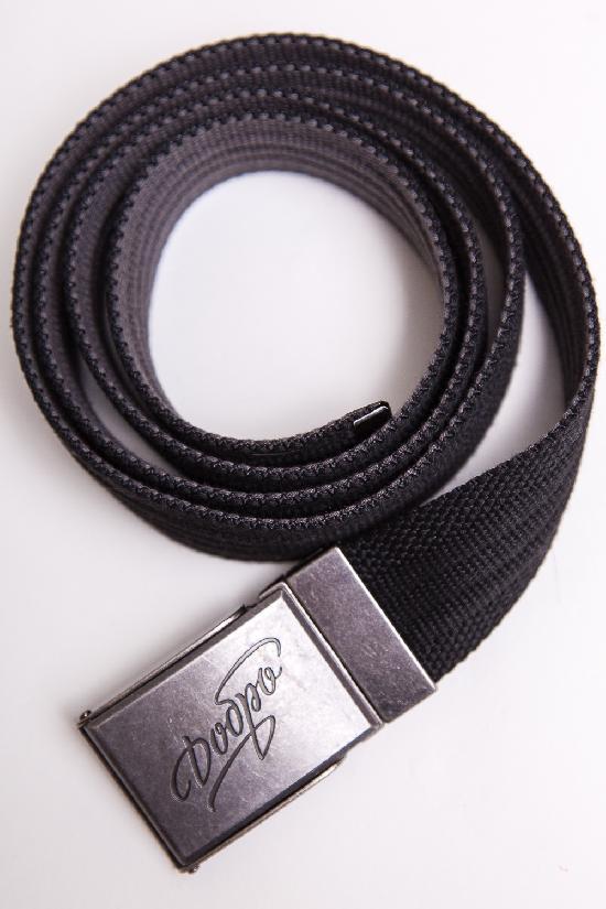 Ремень ЗАПОРОЖЕЦ Webbing Belt Добро (Черный (Black/Grey)O/S)