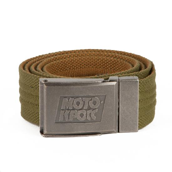 Ремень ЗАПОРОЖЕЦ Webbing Belt Мотокросс (Olive/Sand)