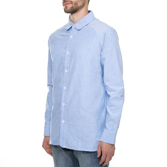 Рубашка ЗАПОРОЖЕЦ Выходная Оксфорд (Blue)