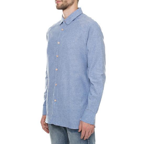 Рубашка ЗАПОРОЖЕЦ Выходная (Blue)