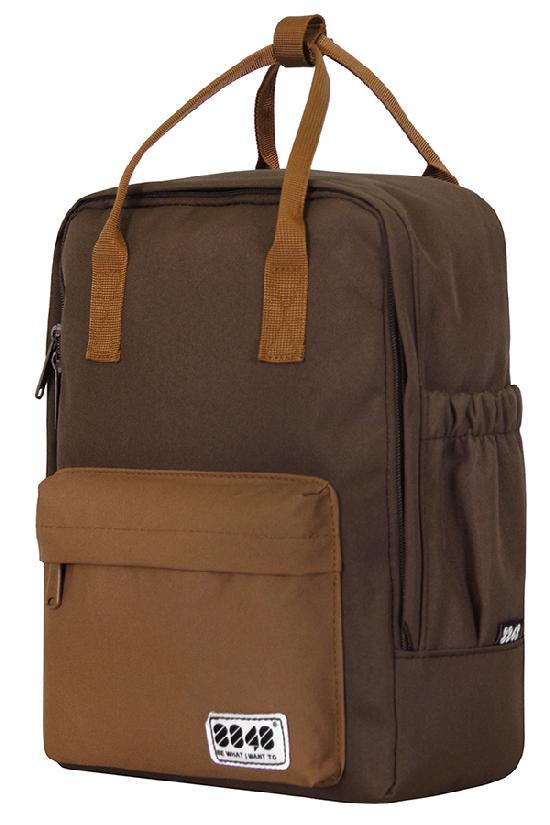 Рюкзак / 8848 / 003-008-026 Рюкзак-сумка 33х14х23 см / шоколадный /