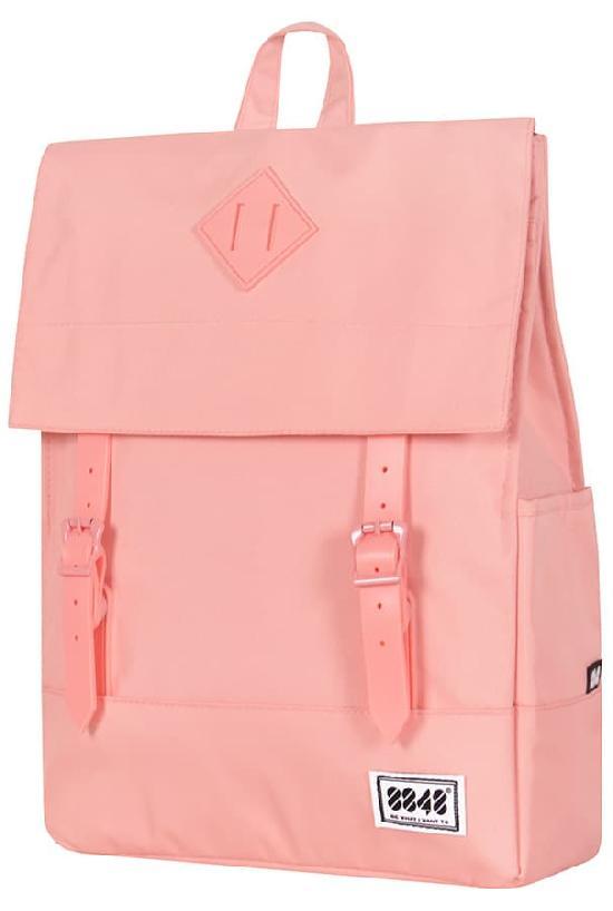 Рюкзак / 8848 / 173-002-025 Пятачок на крышке 41х14х32 см / розово-персиковый