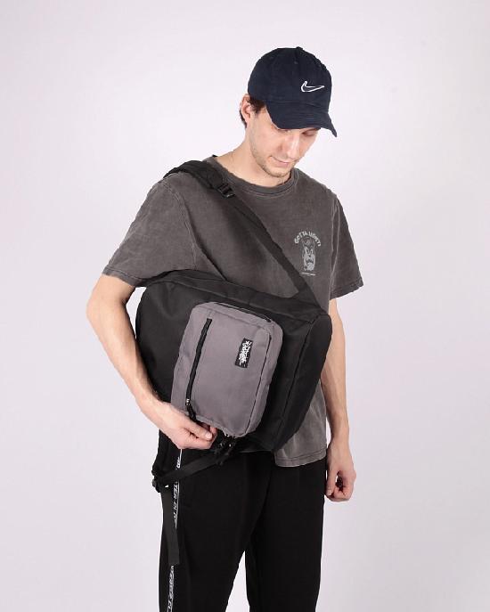 Рюкзак Anteater bagmini-black-grey