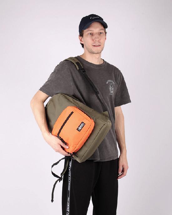 Рюкзак Anteater bagmini-haki-orange