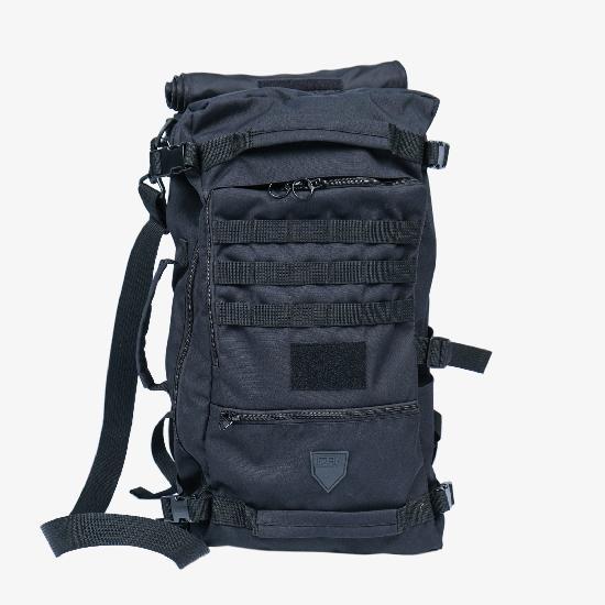 Рюкзак IGAN R02 черный матовый