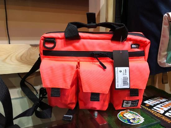 НПОГП   сумка поясная Агент А4 оранжевый