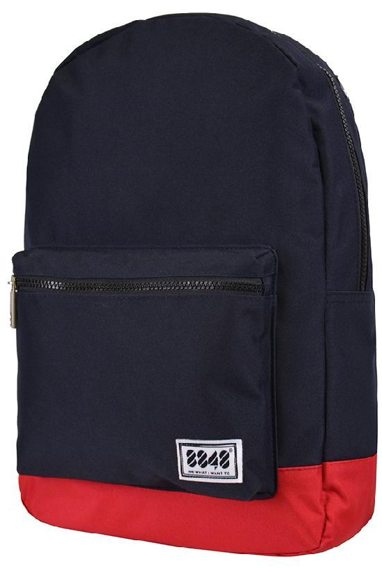 Рюкзак / 8848 / 102-054-004 Цветное дно 40х12х30 см / тёмно-синий